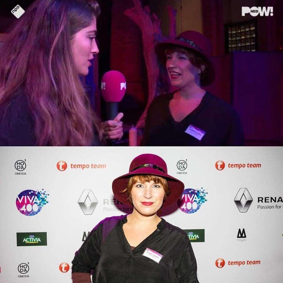 Tamara bij Pownews als VIVA 400 genomineerde