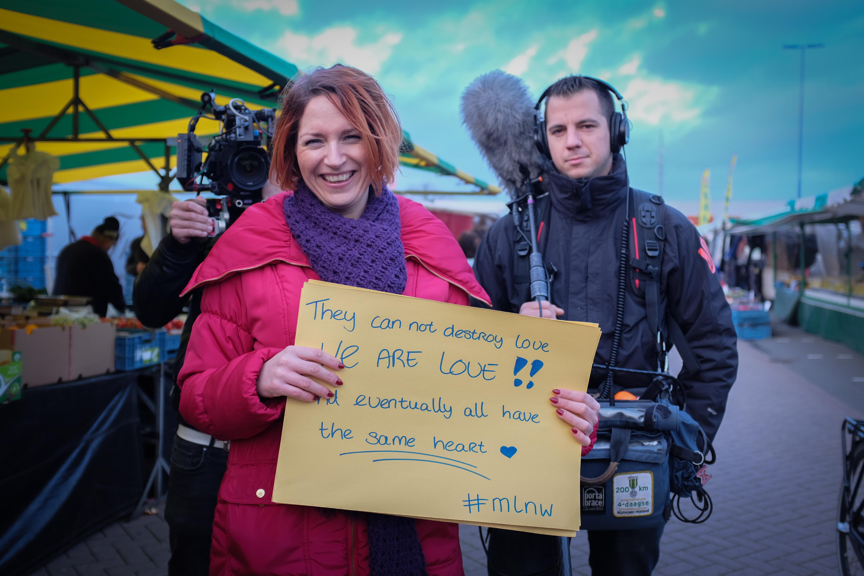 Tamara in 'Jan rijdt rond' Npo 3 na de aanslagen in Parijs